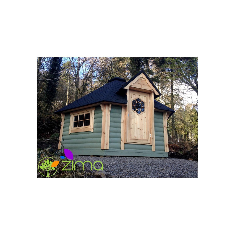 chalet kota grill 9m2 bois massif. Black Bedroom Furniture Sets. Home Design Ideas