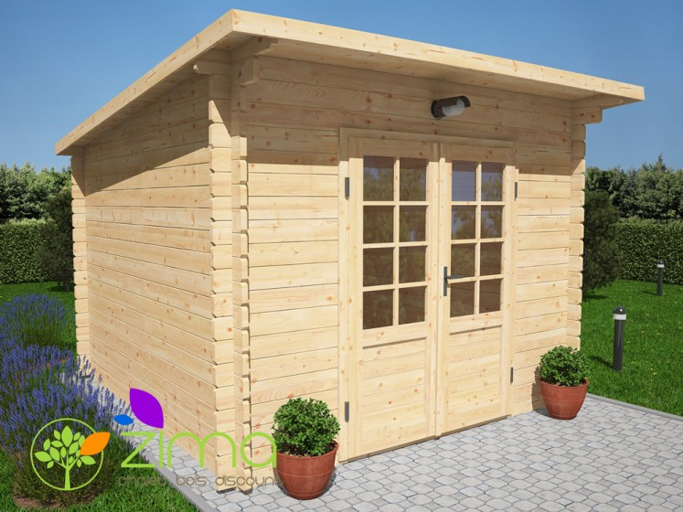 Abri de jardin cabane 9m²