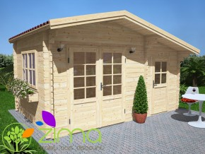Abri de jardin Dordogne 13m²