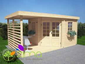 Abri de jardin moderne 9m²