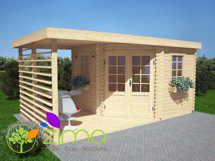 Abri de jardin moderne 9m for Abri de jardin moderne design
