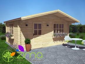 Chalet bois Bretagne 20 m²