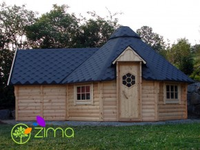 Chalet Kota Grill 16.5m² + extention + 2.9 m2