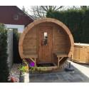 Sauna tonneau