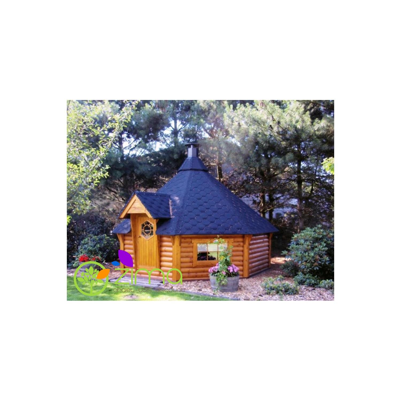 chalet kota grill bois massif en kit. Black Bedroom Furniture Sets. Home Design Ideas