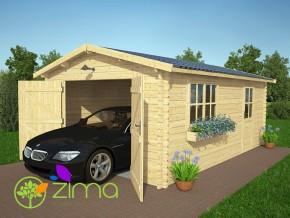Garage bois  24 m2