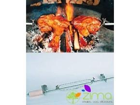 Tournebroche pour barbecue (traditionnel)