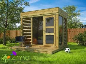Abri de jardin Cube 2 x 3m
