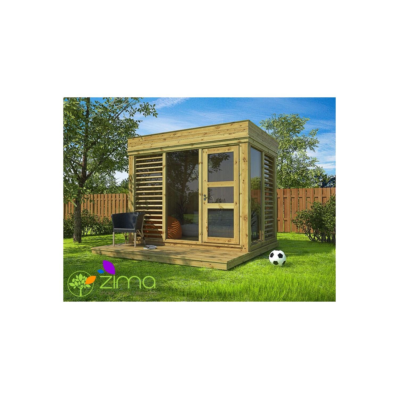 abri de jardin cube 2 x 3m. Black Bedroom Furniture Sets. Home Design Ideas