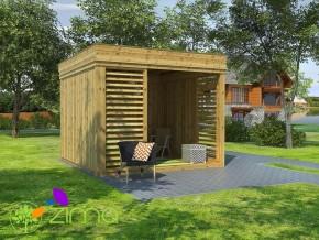 Abri de jardin Cube 3 x 3m