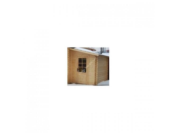 extension pour abri de jardin. Black Bedroom Furniture Sets. Home Design Ideas